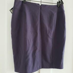 Amethyst pencil skirt
